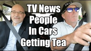 Download TV News People in Cars Getting Tea (Bob Longo) Video