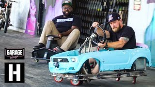 Download We Thrash (And CRASH) The Hacked Up Crazy Cart XXL. Plus Tandems! Video
