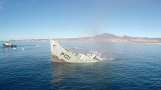 Download GoPro Awards: Sinking a Mexican Navy Warship Video