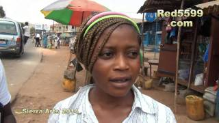 Download Sierra Leone 2014 thanks to my host King Masco - Waterloo Market Video
