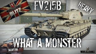 Download FV215b Heavy - What a Monster! Wot Blitz Video
