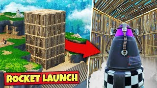 Download We Tried To STOP THE ROCKET LAUNCH - Fortnite Battle Royale Video