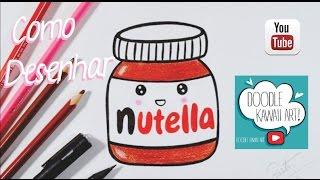 Download Como desenhar POTE de NUTELLA Kawaii passo a passo #RumoAos100k Video