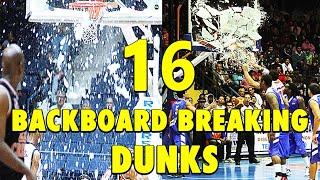 Download 16 Backboard-Breaking Powerful Dunks Video