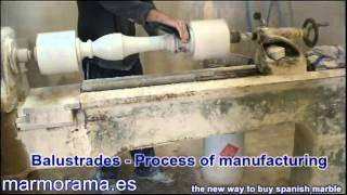 Download Marble Balustrades - Process of Manufacturing Video