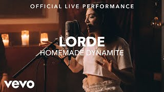 Download Lorde - Homemade Dynamite (Vevo x Lorde) Video