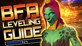 Download BFA Leveling Guide: 110 to 120 (Battle for Azeroth Leveling Tips) Video