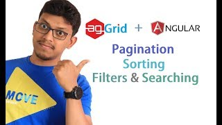 Download agGrid + angular: Pagination, Sorting, Searching and filters [data table] Video