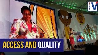Download Graca Machel speaks at the opening of the new Nelson Mandela Children's Hospital Video