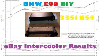 Download How Well Did My eBay Intercooler Perform On My 335i? Installation & Results Video