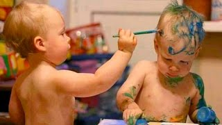 Download The very funniest BABY & TODDLER & KID videos #16 - Funny and cute compilation - Watch and laugh! Video