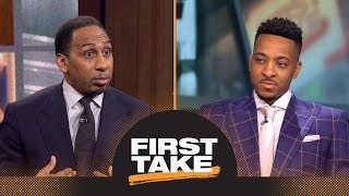 Download Stephen A. to CJ McCollum: Trail Blazers should trade you or Damian Lillard | First Take | ESPN Video