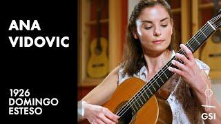 Download Ana Vidovic plays ″Sonatina - I. Allegretto″ by Federico Moreno Torroba on a 1926 Domingo Esteso Video