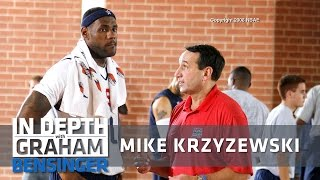 Download Coach K to LeBron: Look me in the eyes Video