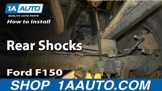 Download How To Install Replace Rear Shocks 2004-08 Ford F150 Video