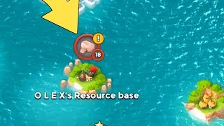Download Boom Beach A LEVEL 18 IS ON MY MAP!! Video