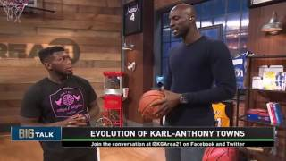 Download Area 21: Big Talk - The Evolution of Karl-Anthony Towns | Inside the NBA | NBA on TNT Video