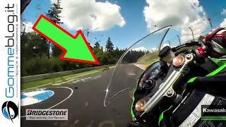 Download Nürburgring RECORD - Kawasaki Ninja ZX10R TOP SPEED at the Nurburgring Video