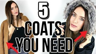 Download 5 Winter Coats Every Woman NEEDS In Their Closet! Video