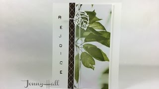 Download How I use DSP scraps for an easy card design using Stampin Up products with Jenny Hall Video