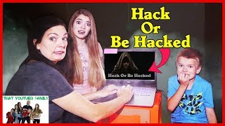 Download HACK OR BE HACKED Trying To ESCAPE The Hackers Box Fort / That YouTub3 Family Video