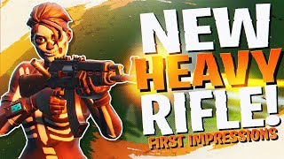 Download *NEW* HEAVY ASSAULT RIFLE REACTION/ANALYSIS! (Fortnite BR Full Match) Video