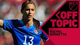 Download Fun time with Alex Morgan, Sydney Leroux and USWNT stars | Off Topic with Rachel Bonnetta Video