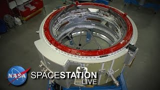 Download Space Station Live: Hooking Up the New Docking Hardware Video