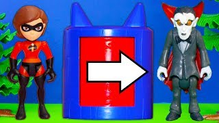 Download Incredibles 2 Face PJ Masks Romeo Who turns the Incredibles into Spooky Creatures Video