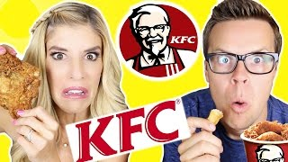 Download Tasting KFC Fast Food Video