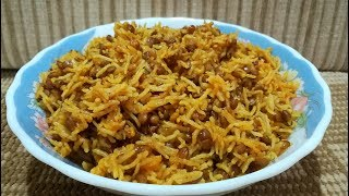 Download Easy 15 Minute Masoor Pulav Recipe | Masoor ka Pulav | मसूर पुलाव की रेसिपी Video