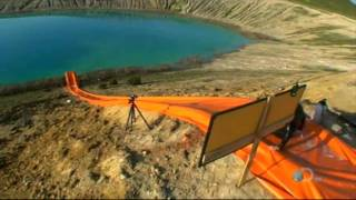 Download MythBusters - Waterslide Wipeout Video