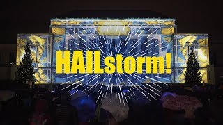 Download HAILstorm! - Projection Mapping on Rackham Building for University of Michigan Ann Arbor, MI, USA Video