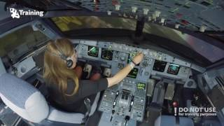 Download Inexperienced girl trying to land A320 Video