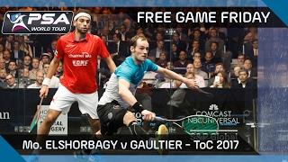 Download Squash: Free Game Friday - ElShorbagy v Gaultier - ToC 2017 Video