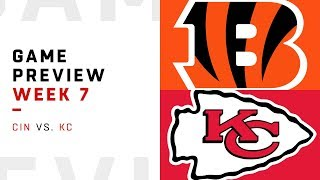 Download Cincinnati Bengals vs. Kansas City Chiefs | Week 7 Game Preview | Move the Sticks Video