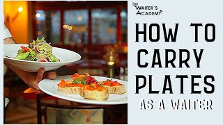 Download Restaurant service- how to carry plates, serve food with a tray! How to carry a tray in restaurant Video