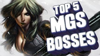 Download Top 5 - Metal Gear Solid bosses Video