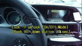 Download Mercedes-Benz w212 Tv-Free On-Off mode 2010.avi Video