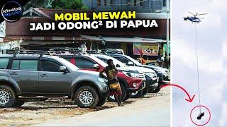 Download Bukti Orang Papua itu Kaya-Kaya! Deretan SUV Mewah Yang Dijadikan Angkutan Umum Di Papua Video