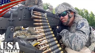 Download M240機関銃 & M249軽機関銃 空軍州兵の射撃訓練 - M240 & M249 Machine Gun Live Fire - U.S. Air National Guard Video