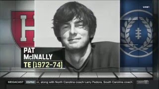 Download Pat McInally Inducted into the College Football Hall of Fame Video