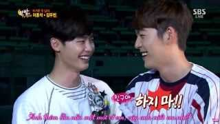 Download [Vietsub] Kim Woo Bin x Lee Jong Suk - Ai La La BinSuk ver. Video