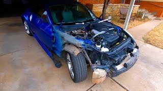 Download Tearing Down the Copart Salvage Nissan 350z Video