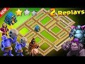 Download NON DEFEATED TH12 WAR BASE 2018 Anti 2 Star With 2 Replay Anti BoWitch,Electro Dragon,Queen Walk,Hog Video