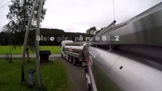 Download Melkebil kjøring på Helgeland Video