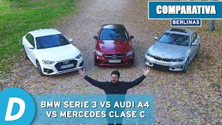 Download BMW Serie 3 vs Audi A4 vs Mercedes Clase C: ¿cuál es la mejor berlina premium? | Diariomotor Video