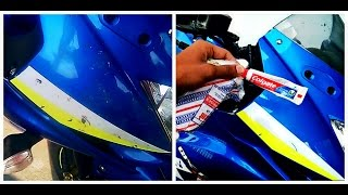 Download Remove Bike Scratches With(Colgate) Toothpaste? - Watch Me Put it To Test Video