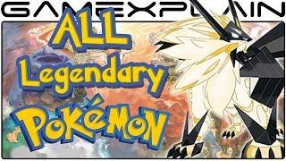 Download All Legendary Pokémon & Ultra Beast Locations in Pokémon Ultra Sun & Moon (Guide & Walkthrough) Video