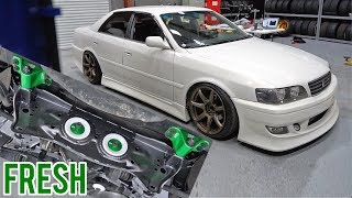 Download JZX100 SHREDS THE STREETS - Subframe & Boost Up! Video